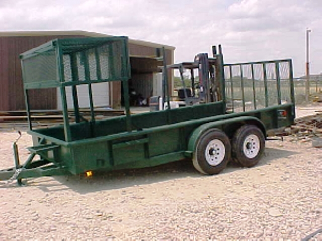 2017 cm trailers landscape trailer ennis tx for Garden maintenance trailer