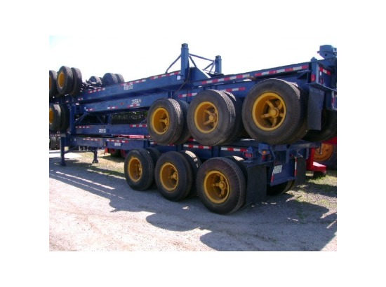 Container Chassis Landing Gear : Strick tri axle container chassis opa locka fl