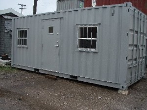 2016 A PLUS 20' OFFICE CONTAINER, Miami FL - 111200008 - EquipmentTraderOnline.com