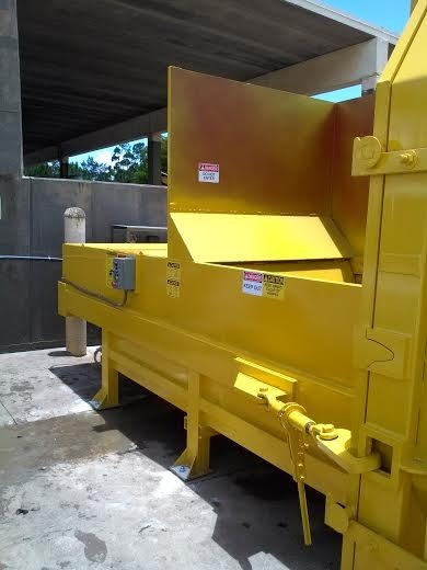 New, 2017, A PLUS, I-PAK 4 CY Stationary Compactor, Recycling Compactors