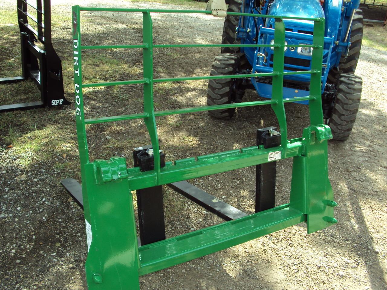 Jd Tractor Forks : Dirt dog john deere style pallet forks magnolia tx