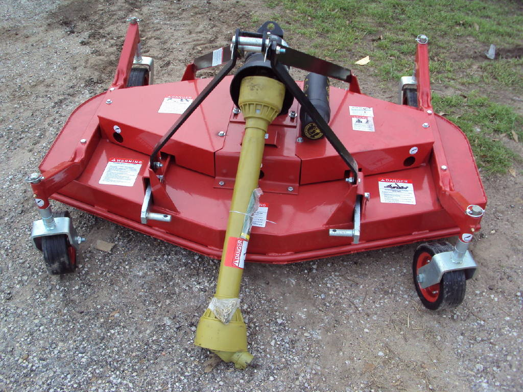 0 Tar River 3pt 5' Foot New Rear Discharge Finish Mower For
