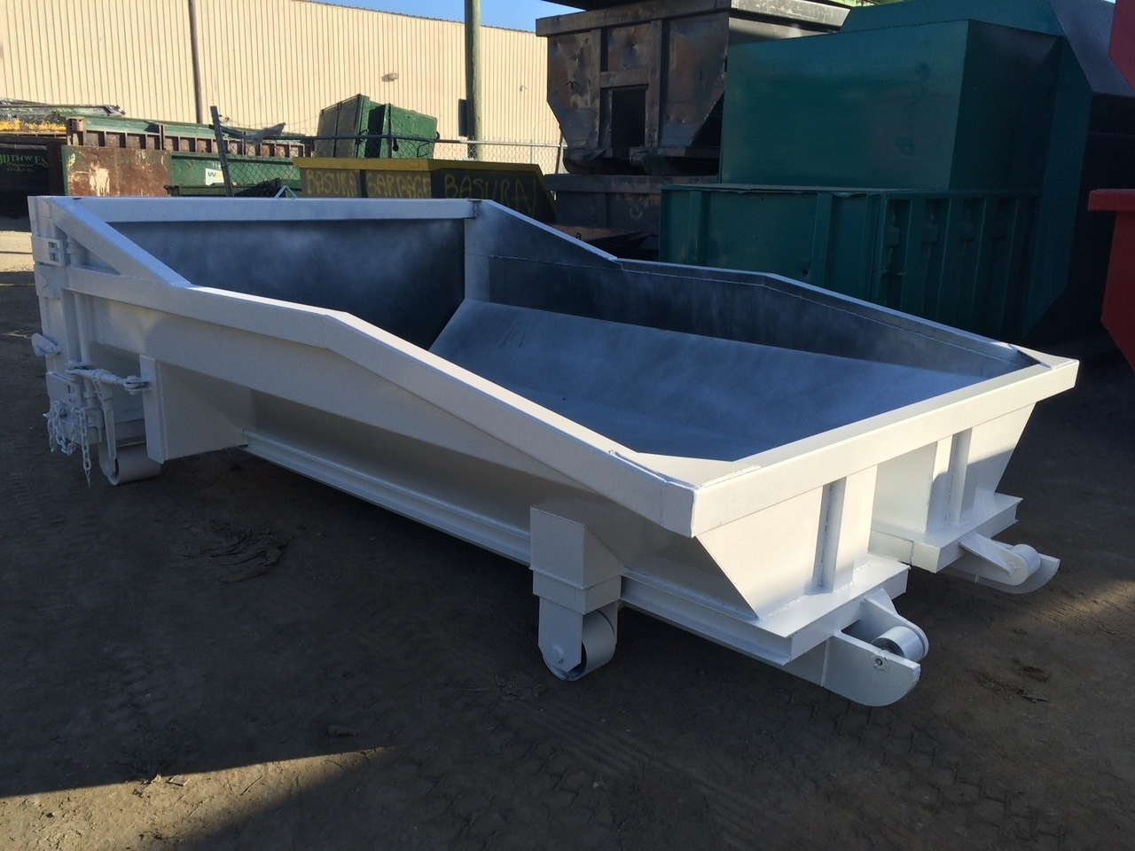 New, 2017, A PLUS, IES Sales and Services Concrete Wash Out Bin, Rolloff Containers
