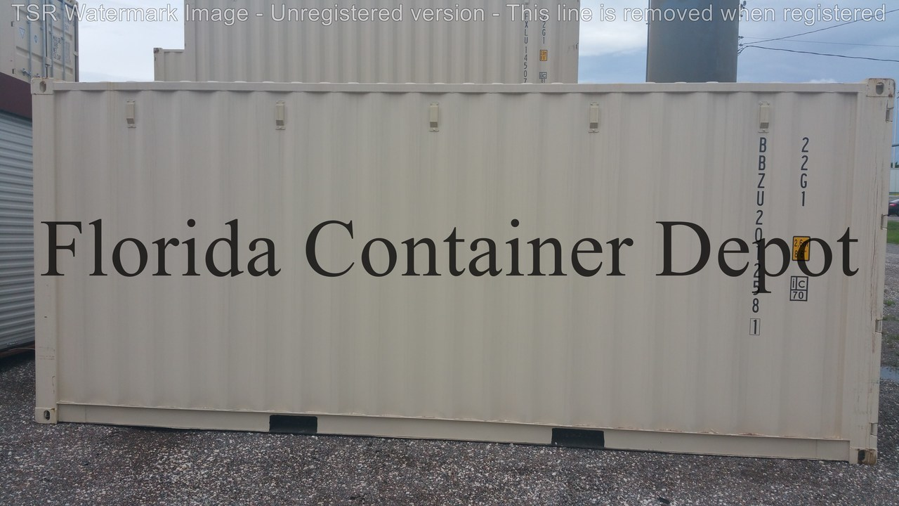 a plus 20ft dry van one trip shipping container tampa fl