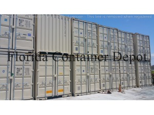 0 A PLUS 40ft Dry Van One Trip Shipping Container, Tampa FL - 118542388 - EquipmentTrader