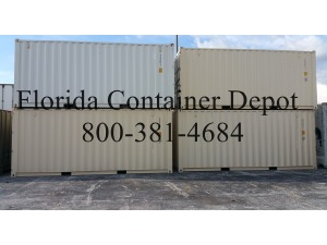0 A PLUS 20ft DV One Trip New Shipping Container, Tampa FL - 118547576 - EquipmentTrader