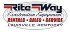 Rite Way Construction Equipment in Louisville, KY Logo