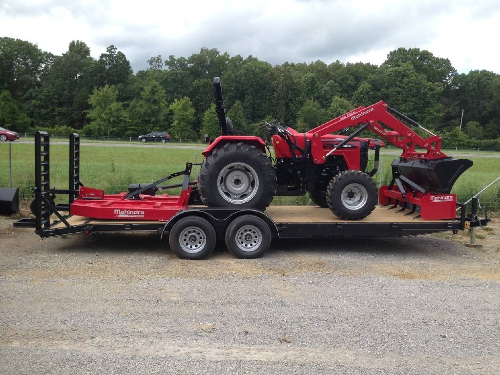 0 Mahindra 4540 4wd (41hp) Package Deal For Sale in