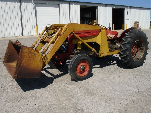 Massey Ferguson 65 Tractor With Loader : Massey ferguson findlay oh