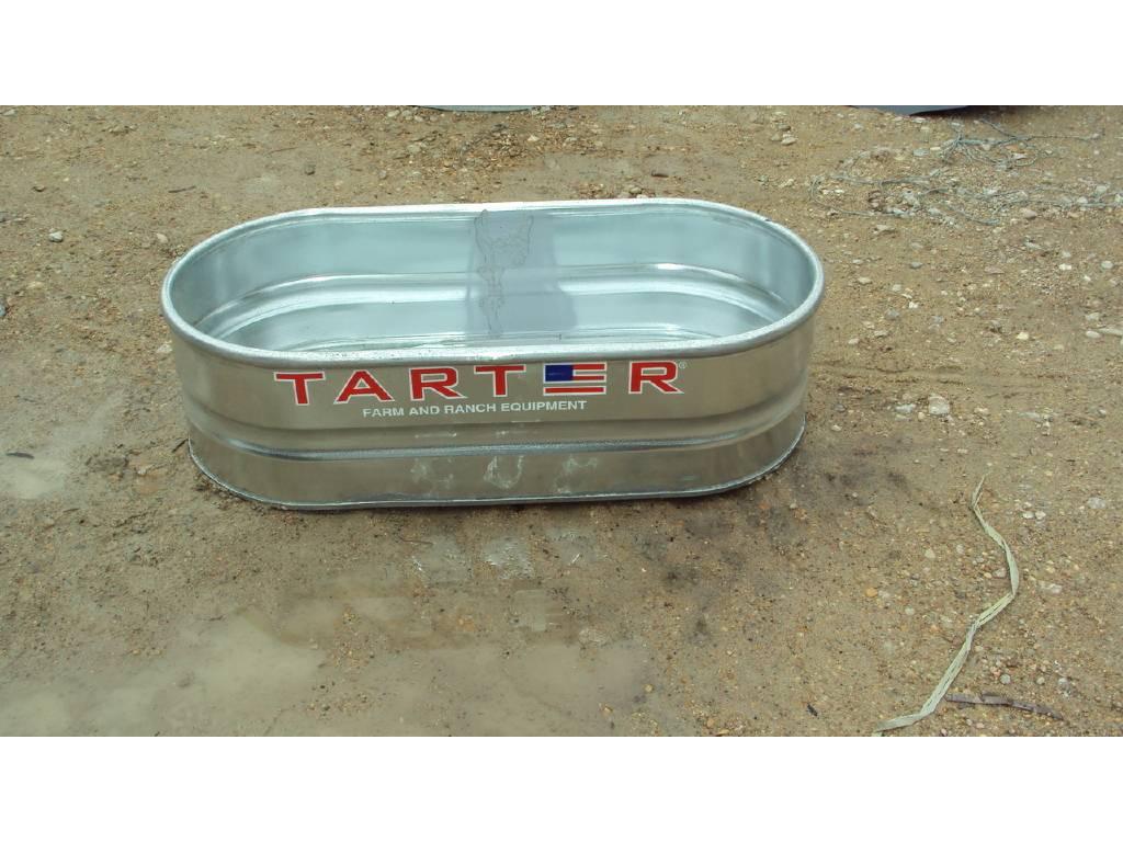 0 Tarter 2x1x4 Galvanized Metal Stock Tank For Sale in Magnolia, TX -  Equipment Trader