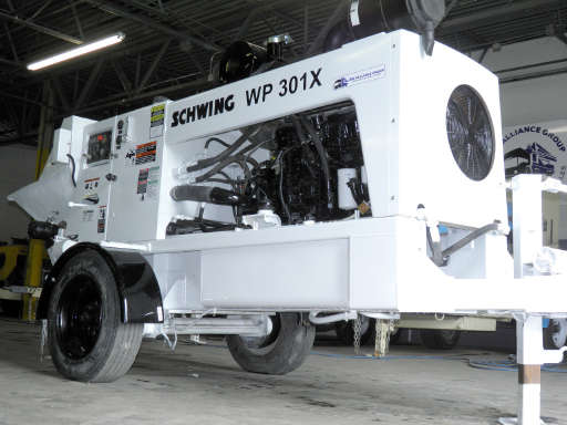WP301X For Sale - Schwing Concrete Pumps - Equipment Trader