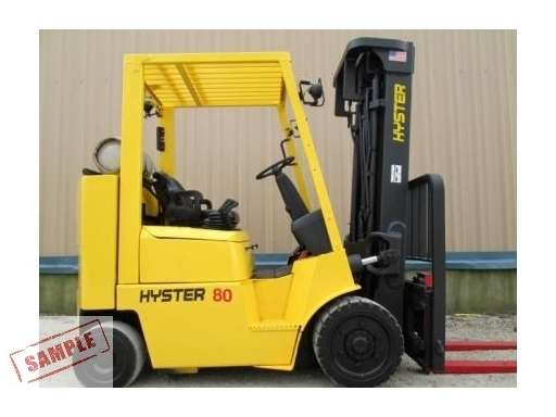 hyster s80xm forklifts equipment for sale equipmenttrader com