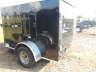 2021 PEACH CARGO 5X8SA BLACK CARGO WITH SWING DOOR, Equipment listing