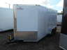 2021 PEACH CARGO 7x14TA WHITE CARGO TRAILER WITH SIDE DOOR AND RAMP, Equipment listing