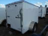 2021 PEACH CARGO 5X8SA WHITE CARGO TRAILER RAMP DOOR, Equipment listing