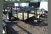 2021 TRIPLE CROWN 5X10G UTILITY TRAILER WITH 2 FT. MESH SIDES