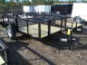 2021 TRIPLE CROWN 5X10G UTILITY TRAILER WITH 2 FT. MESH SIDES , Equipment listing