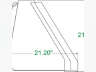 """2020 UNLIMITED FABRICATIONS 66"""" HEAVY DUTY TRACTOR BUCKET, Equipment listing"""