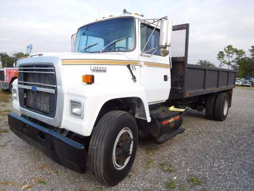 ford 8000 dump trucks equipment for equipmenttrader com 1993 ford l8000 in spring hill fl