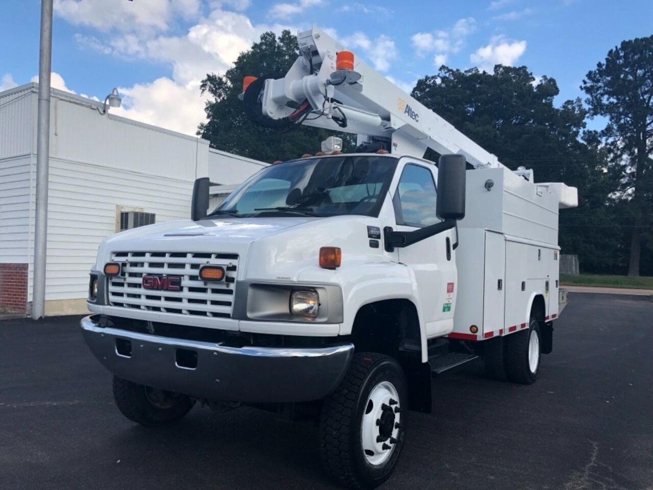 Bucket Truck Equipment For Sale Gmc Topkick C5500 4x4 Crew Cab