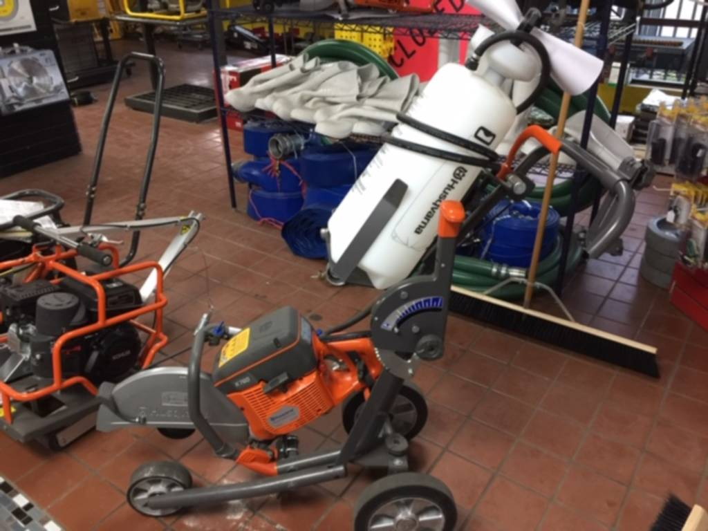0 Husqvarna K760 On Cart With Water Tank For Sale in Tampa, FL - Equipment  Trader