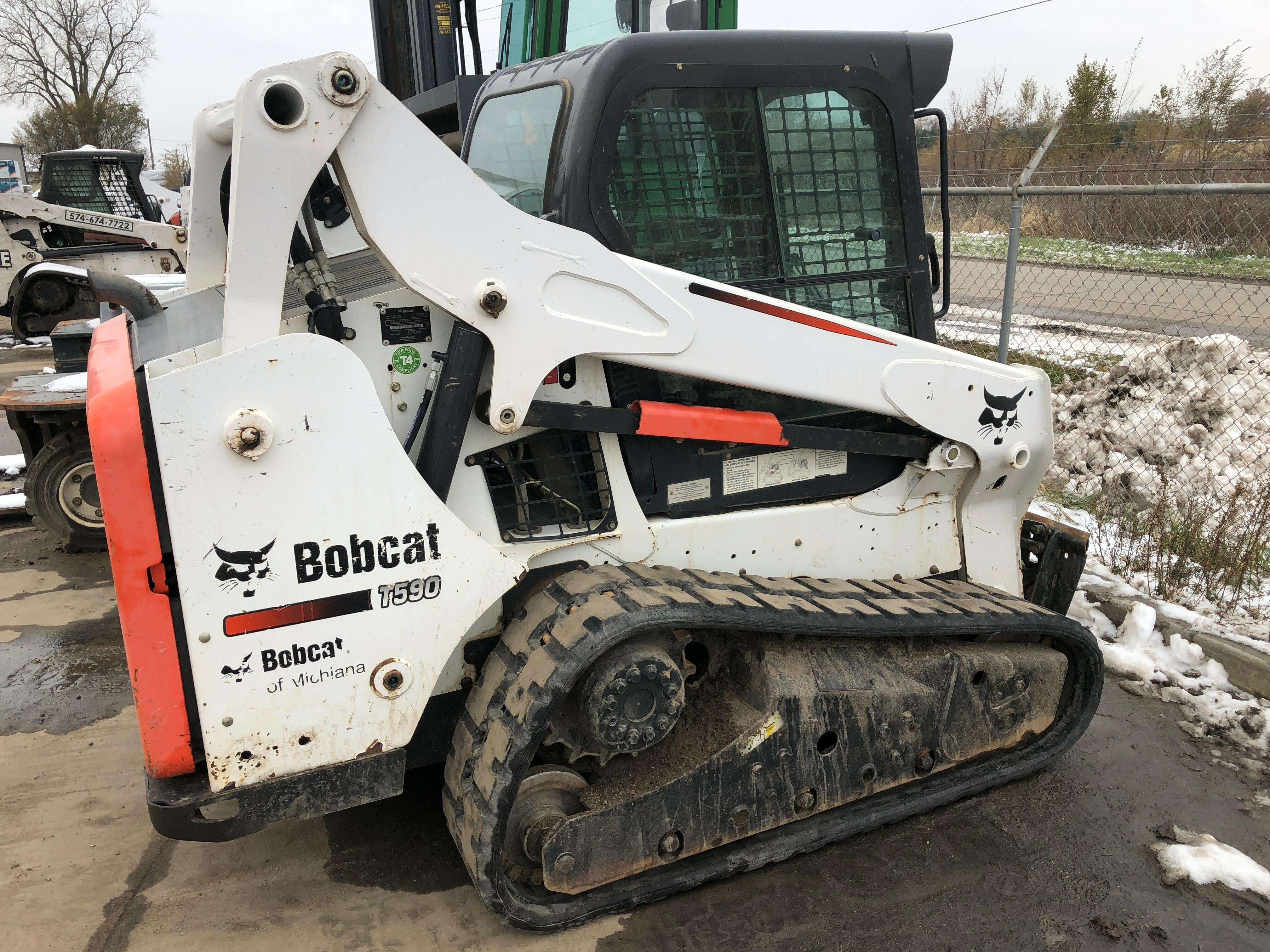 Bobcat Mt85 Track Install
