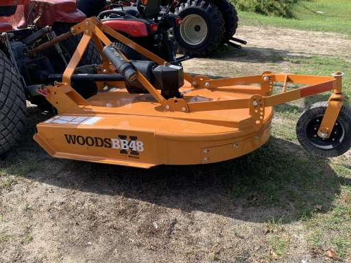 2019 Woods BB48X Rotary Cutter 48'' Demo
