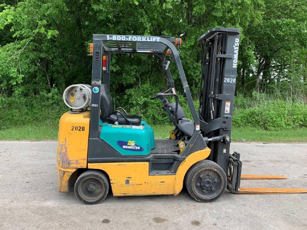 2006 KOMATSU FG25SHT-14, Houston TX - 5008042370 - Equipmenttrader com