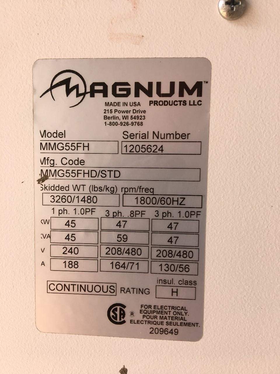 2012 Magnum MMG-55 on