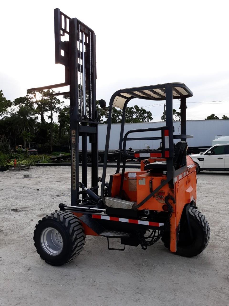 2003 Moffett M5500 Piggyback Forklift