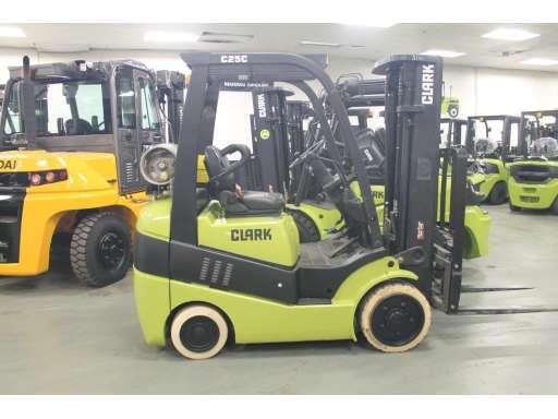 C25 For Sale - Clark Forklifts - Equipment Trader