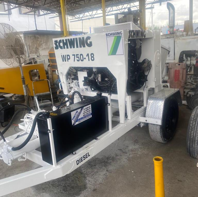 Used, 0, SCHWING, WP750-18, Concrete Pumps