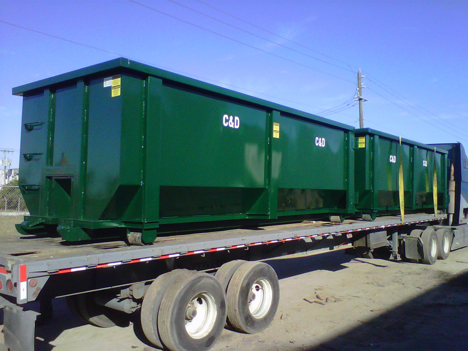 New, 2021, AAA AMERICAN BUILT-RITE CONTAINERS, 10,15,20,25,30,35,and40 cubic yard containers custom yd, Rolloff Containers