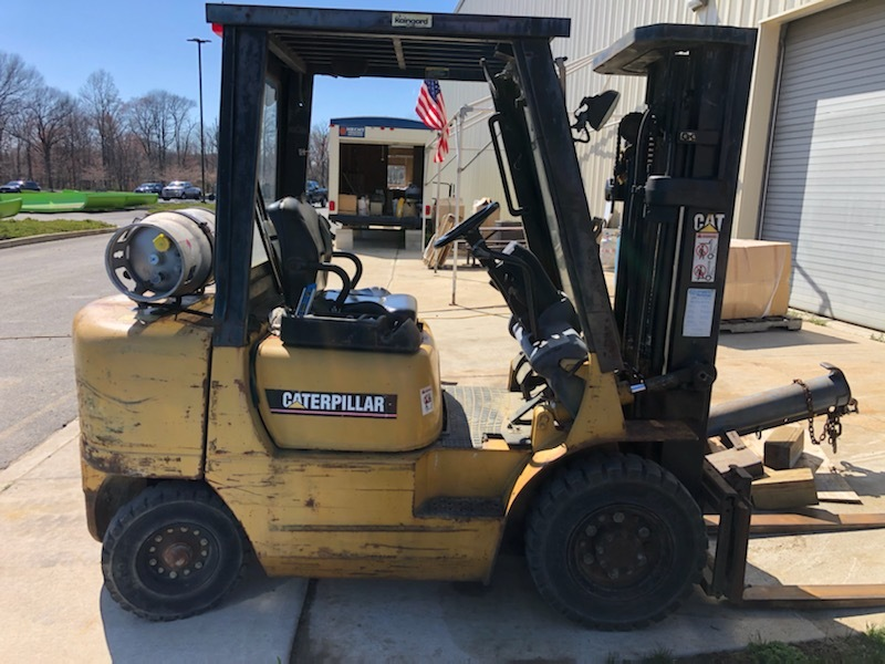 Used, 2001, CATERPILLAR, GP25, Forklifts