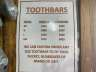 0 CID TOOTHBAR, Equipment listing